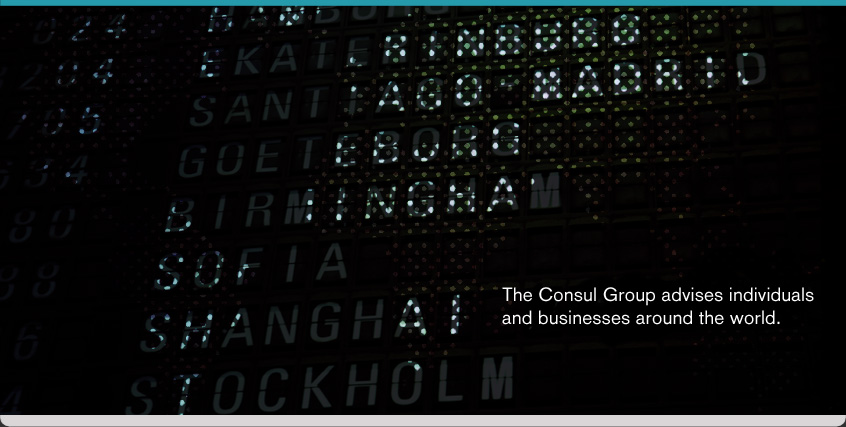 The Consul Group advises individuals and businesses around the world